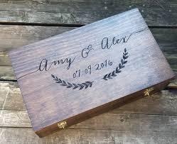wedding gift keepsake box best 25 wedding wine boxes ideas on diy gifts small