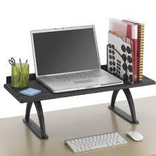 desktop shelf riser wayfair