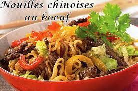 cuisiner des pates chinoises recette de nouilles chinoises au boeuf