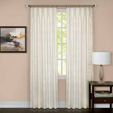 achim sheer windsor ivory pinch pleat window curtain panel 34 in