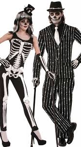 skeleton costumes print couples costume tuxedo skeleton costume skeleton