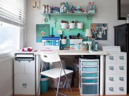 how to turn any space into a dream craft room hgtv s decorating jen carreiro of something turquoise