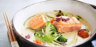 utilisation du lait de coco en cuisine saumon lait de coco facile et pas cher recette sur cuisine actuelle