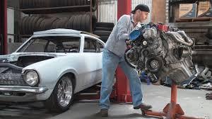Dodge Viper 1970 - dodge viper v10 in a ford maverick build video 3 engine removal