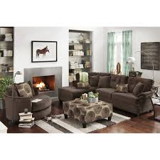chocolate storage ottoman cordelle 2 piece left facing chaise sectional free cocktail