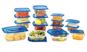 Food Storage Container Sets - reusable plastic food storage containers set 30 or 50 piece