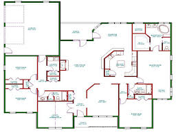 open concept house plan one story cool floor plansh best