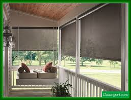 Outdoor Bamboo Blinds Lowes Screened Porch Blinds Exterior Roller Shades Outdoor Roller Shade