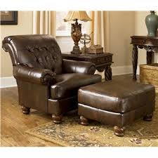 Leather Armchair With Ottoman Chair And Ottoman Phoenix Glendale Tempe Scottsdale Avondale