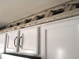 what to do with space above kitchen cabinets kitchen decoration