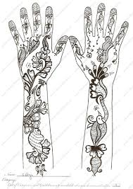 arabic henna tattoo designs on hands real photo pictures images
