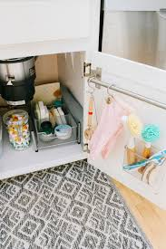 kitchen sink cabinet storage ideas kitchen sink organization ideas clean and scentsible