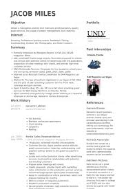 Sample Of General Resume by General Labor Resume Samples Visualcv Resume Samples Database