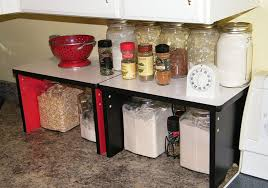 kitchen counter storage ideas kitchen countertop small shelf space saver organizer
