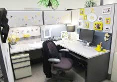 How To Decorate A Home Office Exceptional Decorating An Office 14 Organized Office Cubicle How