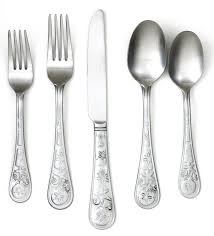 dining room kohls silverware cambridge flatware bed bath and