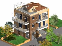 three story building three storey residential building made by g n architects amazing