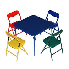 Childrens Folding Table And Chair Set Red Kids U0027 Table U0026 Chair Sets You U0027ll Love Wayfair