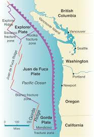 physical map of oregon juan de fuca plate december 2011 hudson valley geologist