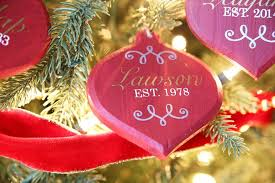 Blank Ornaments To Personalize Diy Personalized Christmas Ornaments Just A And Her Blog