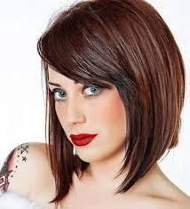 shorter hairstyles with side bangs and an angle ideas about how to cut angled bangs cute hairstyles for girls