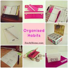 organised habit 1 write lists zoeathome com