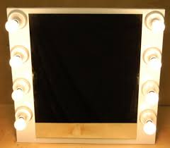 stand alone mirror with lights entertainment product page