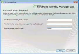 reset microsoft online services password the self service identity management door is now open alan s world
