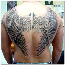 big design of wings on back tattooshunt com