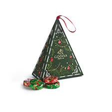 chocolate tree ornament godiva