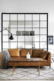 Glass Room Divider 120 Apartment Decorating Ideas Glass Room Leather Sofas And
