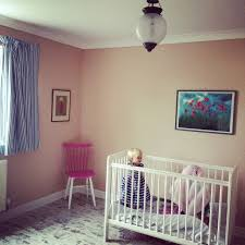 girls room painted in setting plaster farrow and ball farrow