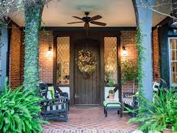 Front Door Patio Ideas Rustic Farm And Garden Style Front Door Decor Hgtv
