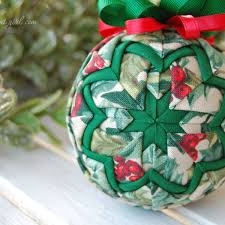 quilted basic ornament pattern e book no sew learn