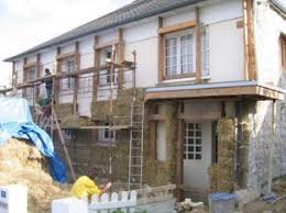 is retrofitting with exterior straw bale insulation practical