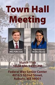 washington state house democrats final town hall reminder sound