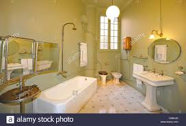 bathroom show apartment museum casa milà designed by antoni