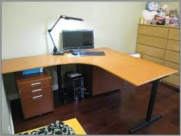 Furniture Marvelous Raised Desktop Shelf Computer Desk With
