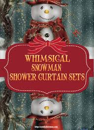 Snowman Shower Curtain Target Snowman Shower Curtain Sets U2022 Comfy Christmas