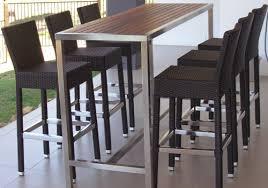 Outdoor Bar Table Outdoor Bar Setting Furniture Outdoor Goods