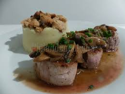 comment cuisiner un filet mignon de porc médaillons de filet mignon de porc sauce forestière philandcocuisine