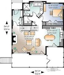 Wisteria Floor Plan House Plan W3937 Detail From Drummondhouseplans Com