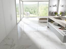 16 in x 32 in pietra statuario glazed polished porcelain floor