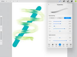 blender brush or smudge tool in procreate on ipad pro jspcreate