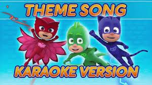 pj masks creations karaoke compilation