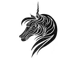 latest unicorn head tattoo design photos pictures and sketches