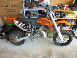 biketech7 2013 ktm 50sx clutch replacement