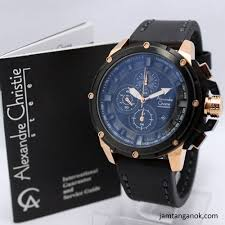 Jam Tangan Alexandre Christie Cowok tangan alexandre christie ac 6390 black gold