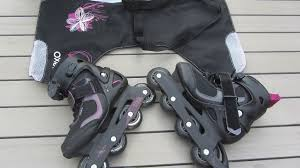 womens roller boots uk decathalon womens inline roller skates in condition
