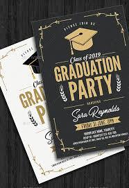Graduation Invitation Cards Designs 7 Graduation Invitation Card Designs Design Trends Premium